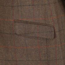 Wilmslow Check Tweed Jacket Blazer Sports Coat Quality Russet Brown Wool New
